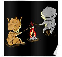 Bonfire Buddies - Dark Souls Poster