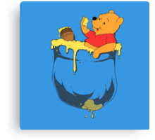 Pocket Pooh Canvas Print