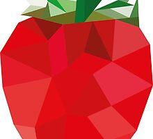 Poly Strawberry by eadingtonanne