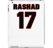 NFL Player Rashad Lawrence seventeen 17 iPad Case/Skin