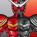 Kamen Rider Double Heat/Metal by jellysoupstudio