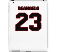 NFL Player DeAngelo Hall twentythree 23 iPad Case/Skin