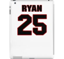 NFL Player Ryan Clark twentyfive 25 iPad Case/Skin