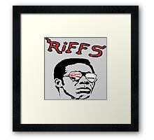 THE RIFFS Framed Print
