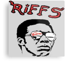 THE RIFFS Metal Print