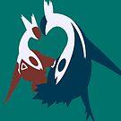 【1800+ views】Pokemon Latios & Latias by Ruo7in