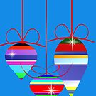 Three Christmas Ornaments by Lotacats