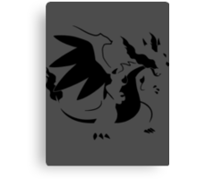 【1700+ views】Pokemon Mega Charizard X Canvas Print