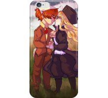 first love pair iPhone Case/Skin