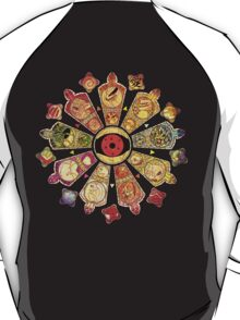 【26300+ views】NARUTO: Tailed Beasts T-Shirt