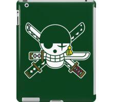 【6800+ views】ONE PIECE: Jolly Roger of Roronoa Zoro iPad Case/Skin