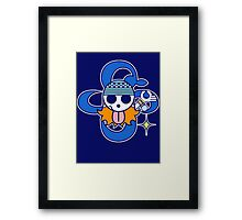 【1700+ views】ONE PIECE: Jolly Roger of Nami Framed Print