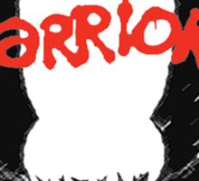 THE WARRIORS symbol Sticker