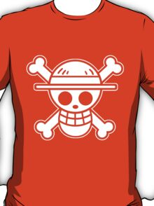 【4000+ views】ONE PIECE: Jolly Roger of Straw Hat III T-Shirt