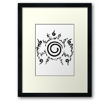 【19900+ views】NARUTO: the Seal of Nine-tails Framed Print