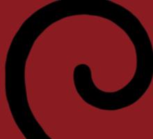 【21000+ views】NARUTO: Clan Symbol of Whirlpool (Uzumaki) Sticker