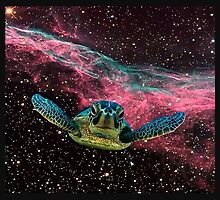 SPACE TURTLE by greatbritton99