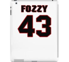 NFL Player Fozzy Whittaker fortythree 43 iPad Case/Skin