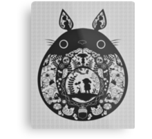 【24800+ views】Totoro Metal Print
