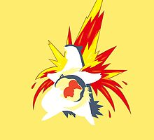 【20600+ views】Pokemon  Cyndaquil>Quilava>Typhlosion by Ruo7in