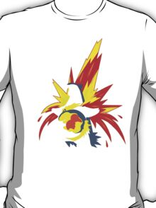 【20600+ views】Pokemon  Cyndaquil>Quilava>Typhlosion T-Shirt