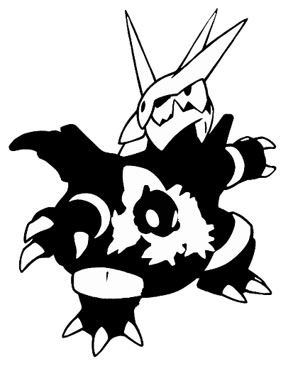 【17800+ views】Pokemon  Aron>Lairon>Aggron by Ruo7in