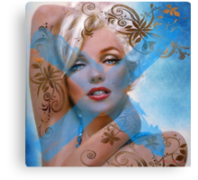 Marilyn MM 127 Canvas Print