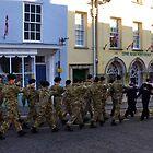 Memorial March Through Lyme Regis........ by lynn carter