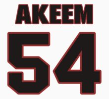 NFL Player Akeem Jordan fiftyfour 54 by imsport