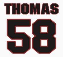 NFL Player Thomas Davis fiftyeight 58 by imsport