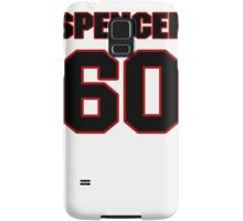 NFL Player Spencer Long sixty 60 Samsung Galaxy Case/Skin