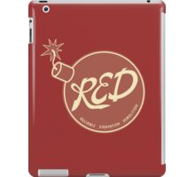 Red Team - Reliable Excavation Demolition iPad Case/Skin