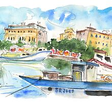 Boats In Siracusa 01 by Goodaboom