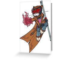 Gambit cat Greeting Card