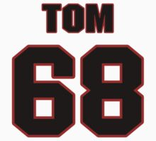 NFL Player Tom Compton sixtyeight 68 by imsport