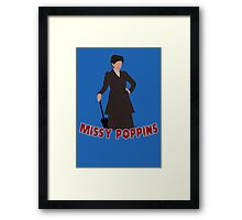 Missy Poppins Framed Print