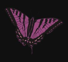 Butterfly - Pink by Alex Sinclair