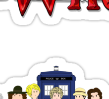 Doctor Who Time Sticker