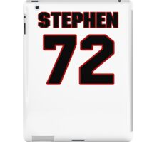 NFL Player Stephen Bowen seventytwo 72 iPad Case/Skin