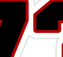 NFL Player Drake Nevis seventythree 73 Sticker