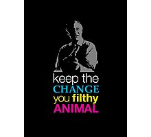 Home Alone - Keep the Change You Filthy Animal Photographic Print