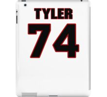 NFL Player Tyler Polumbus seventyfour 74 iPad Case/Skin