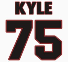 NFL Player Kyle Long seventyfive 75 by imsport