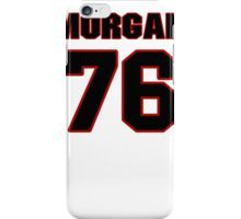 NFL Player Morgan Moses seventysix 76 iPhone Case/Skin