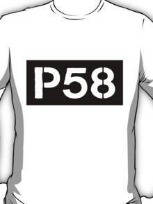 P58 - LOGO IN BLACK RECTANGLE T-Shirt