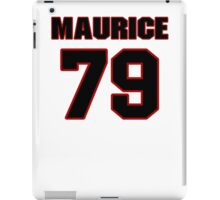NFL Player Maurice Hurt seventynine 79 iPad Case/Skin