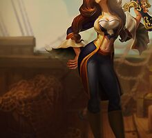 Lol League of Legends Miss Fortune by gleviosah