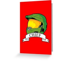 Master Chief Version 2 Greeting Card