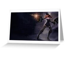 Lol Miss Fortune Leage of Legends Greeting Card