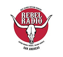 Rebel Radio! Photographic Print